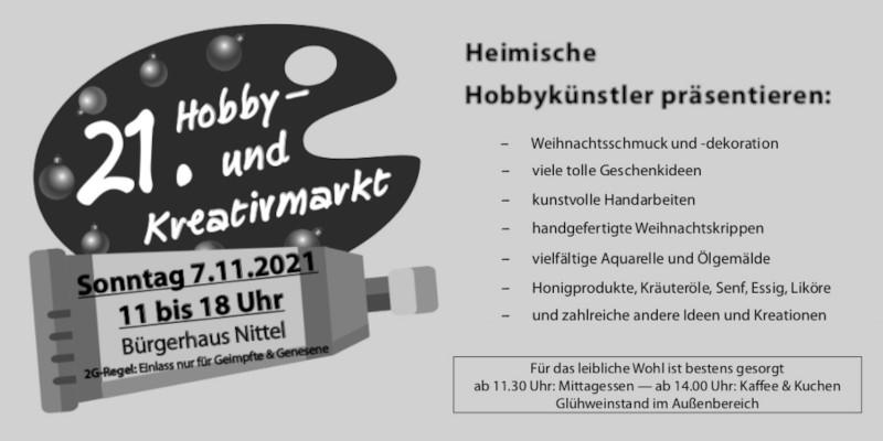 21. Hobby- und Kreativmarkt